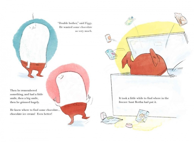 prop picture book illustration figgy matt lucas pompidou
