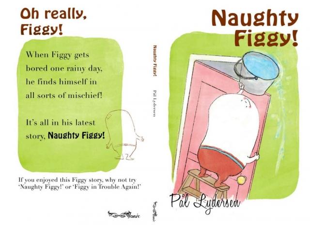 Prop illustration book design naughty figgy matt lucas pompidou