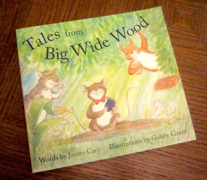 prop picture book mouse squirrel rat